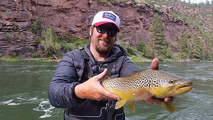 Bryan Hunt, trout