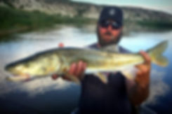 Bryan Hunt, colorado pike minnow, sqwah fish