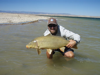 Jeremy Rogers Fly Fishing Carp