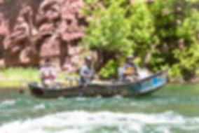 Drift Boat on Utah's Green River