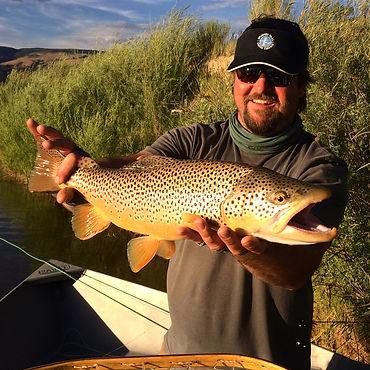 Bryan Hunt, brown trout