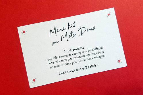 Mini Kit pour Mots Doux