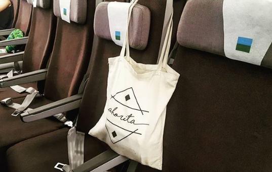 Dans l'avion ?