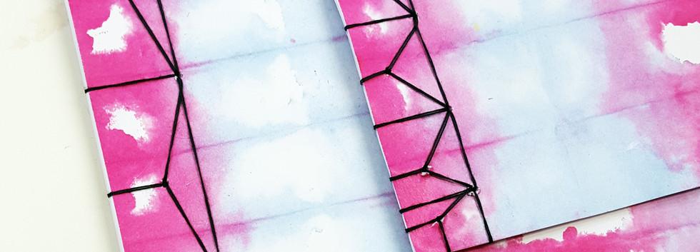 Orizomegami et reliure japonaise