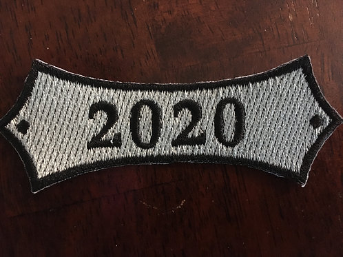 2020 Year Bar patch