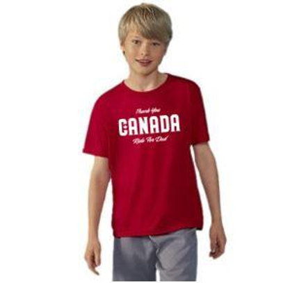 Thank You Canada Youth T shirt
