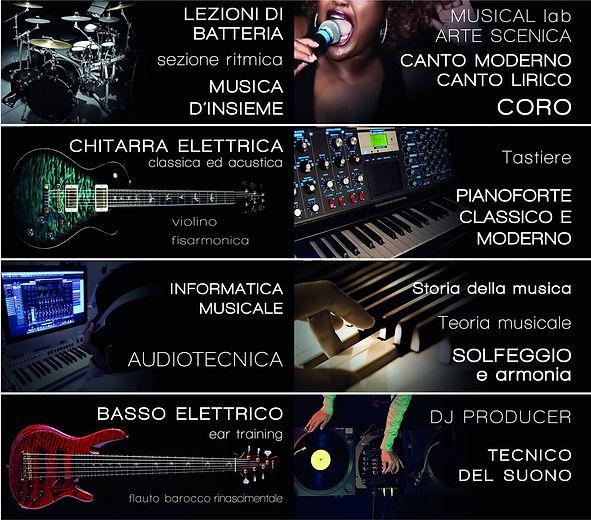 Alchèma, Corsi Di Musica
