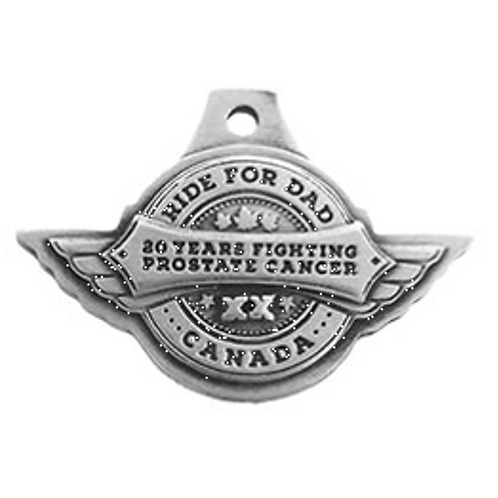 20 Years Fighting Prostate Cancer Keychain