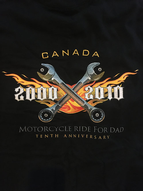 Cross Canada Wrenches 10 Year anniversary long sleeve T