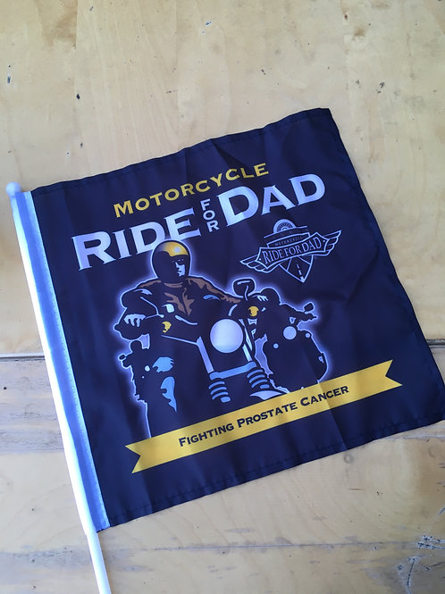 2020 Ride for Dad Flag