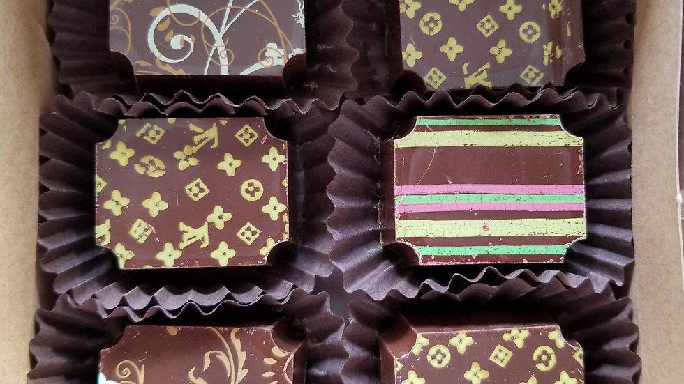 Gluten Free Bourbon Maple Creme Chocolates-6