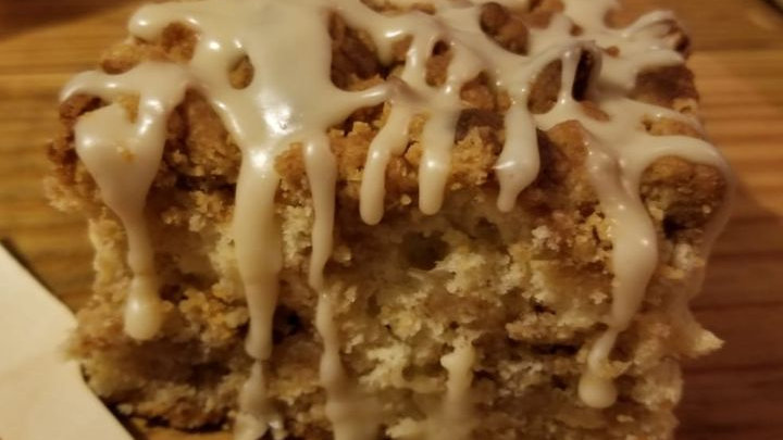 Cinnamon Coffee Cake-6 large slices