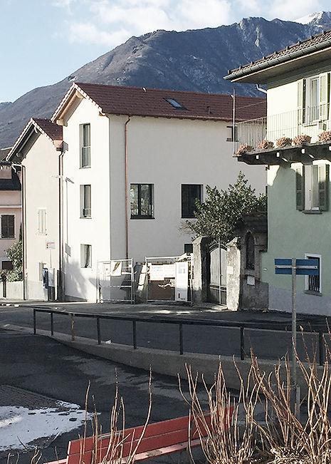 Architektur Bellinzona Neubau Dorfkern