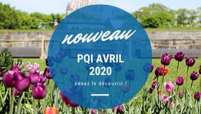 Le PQI d'avril 2020