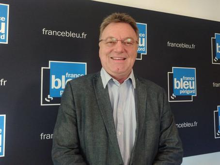 Le président de Périgord Québec sur France Bleu