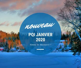 Le premier PQI de l'année 2020