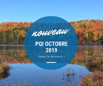 Le PQI d'octobre 2019