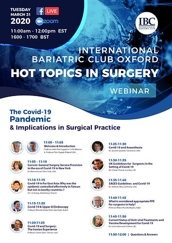 The Covid-19 Pandemic & Implications in Surgical Practice
