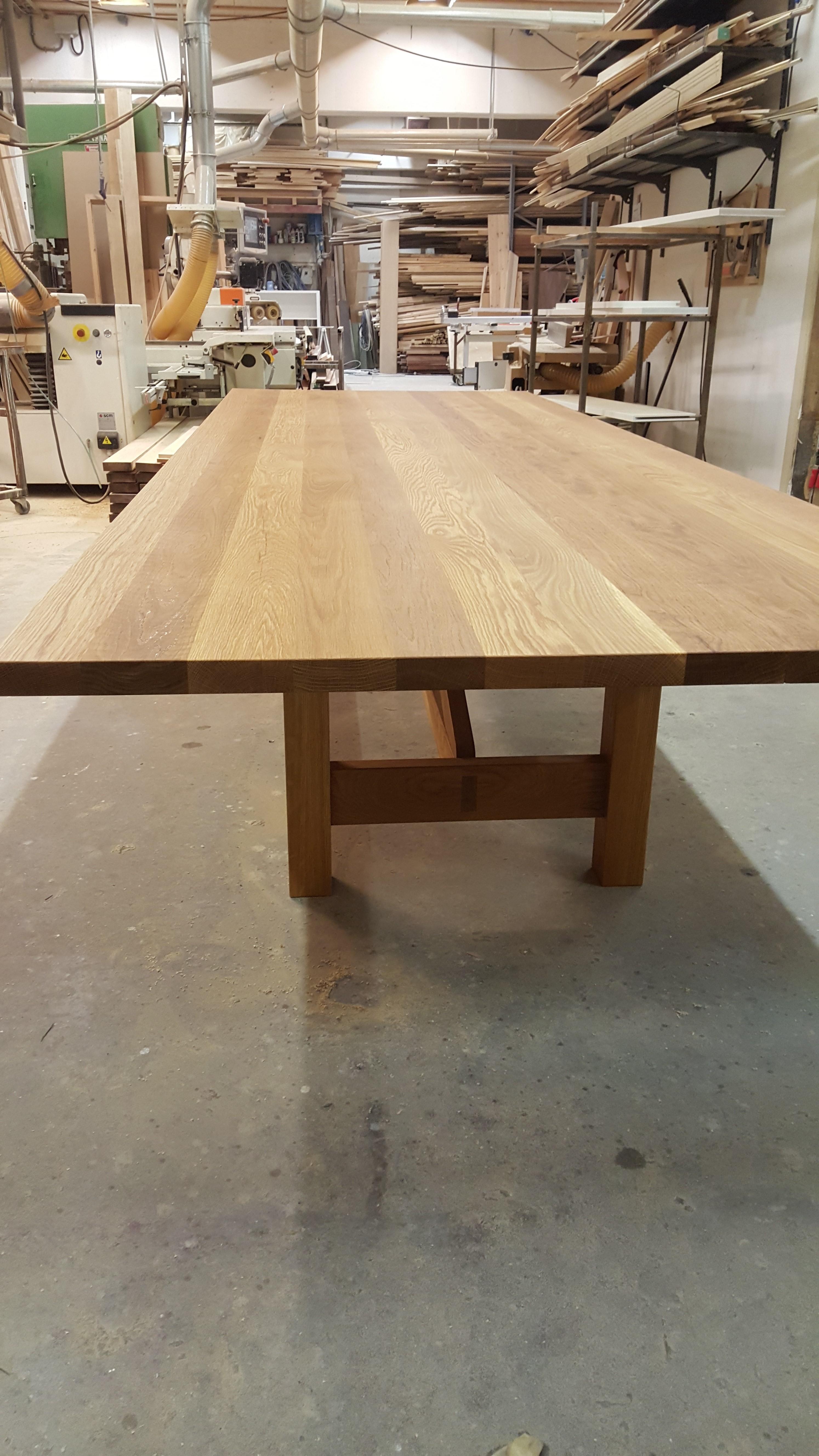 Møbler, Eik spisebord, møtebord