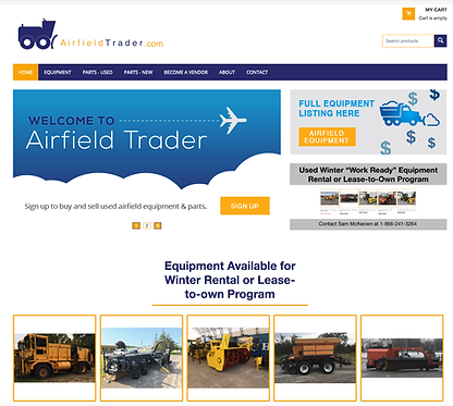 Used Airfield Equipment & Parts