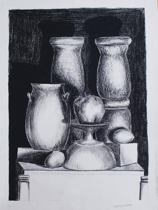 Conté Drawing