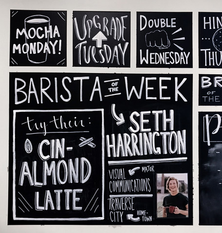 Chalk Board Features