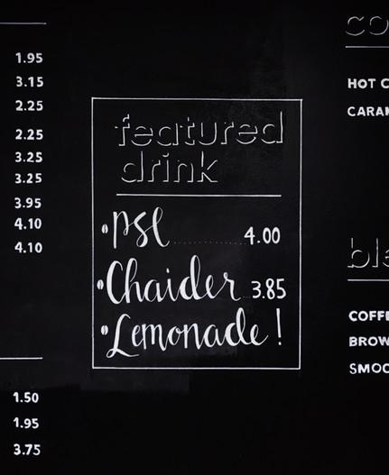 Featured Drink Art