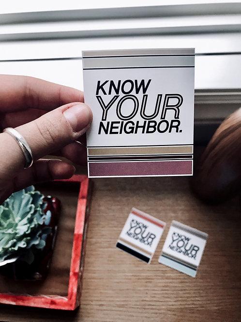 KYN Stickers