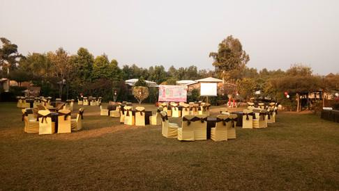 Event in Pathar Chaur, jim corbett park hotels