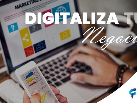 Digitaliza tu negocio con bajo presupuesto
