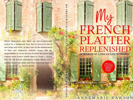 IT'S LIVE! MY FRENCH PLATTER REPLENISHED IS NOW AVAILABLE ON AMAZON