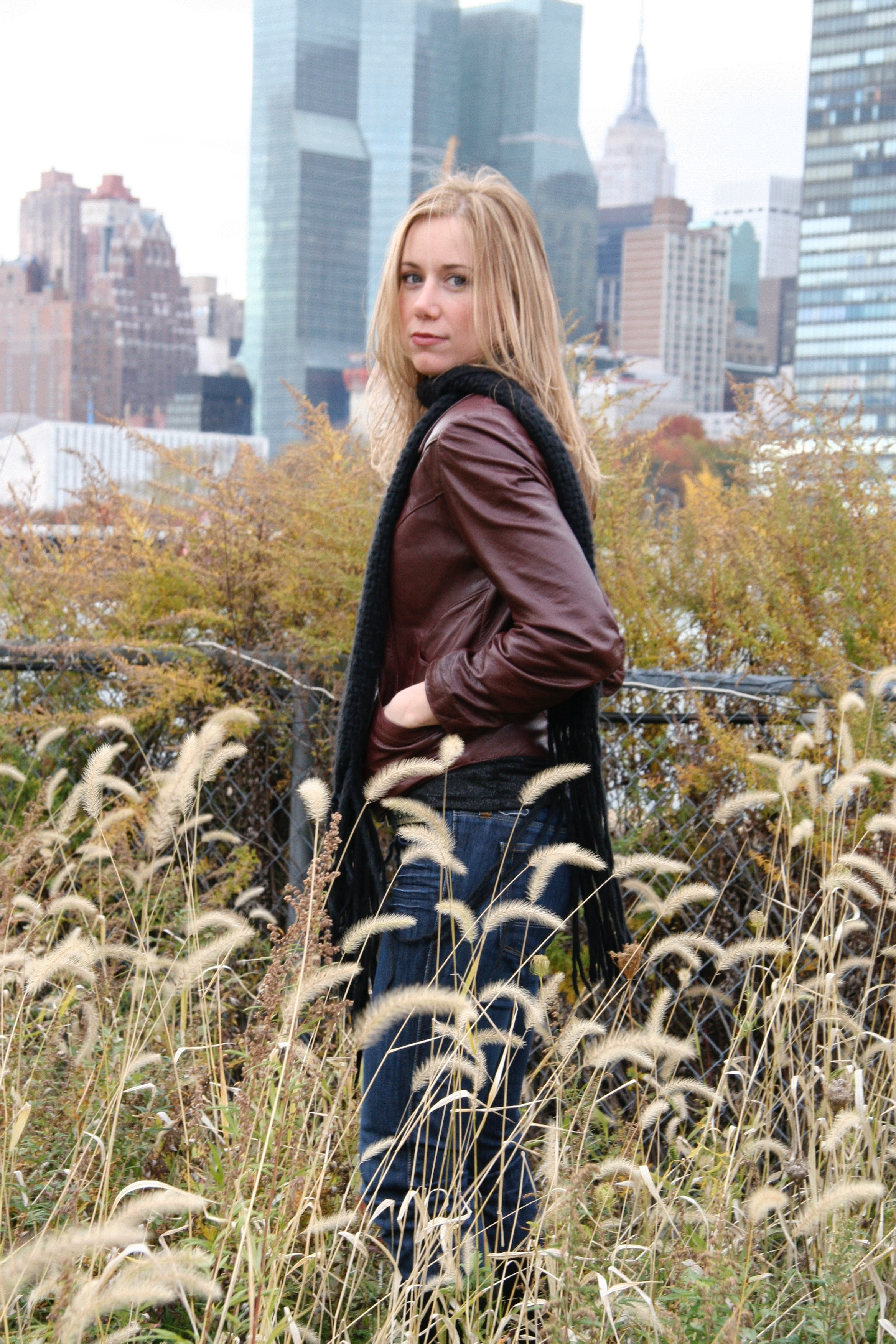 Laura Ault in NYC 2008