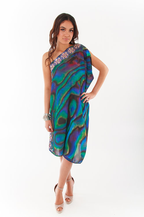 Delilah One Shoulder Kaftan