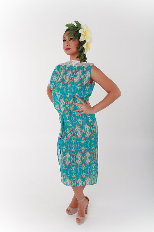 Splice Midi Dress