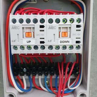 Electronic roller door controller