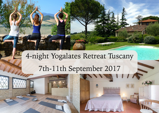 Yogalates Retreat at Casa Martini-September 2017