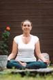 Yoga in giardino