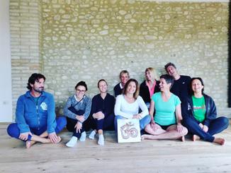 Finiscono i ritiri ma continua lo yoga