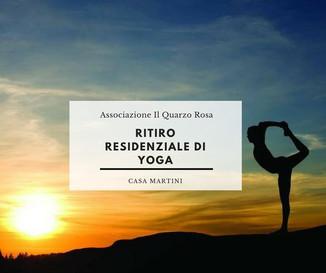 Ritiro residenziale di Yoga