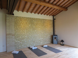 yoga shala/fienile