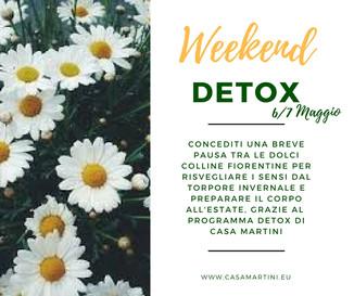 Fine settimana Detox: ritiro depurativo nella campagna toscana