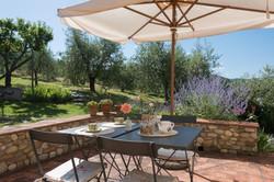 Marisa's terrace