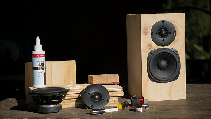 QRG0288 - The Speaker Project -Materials