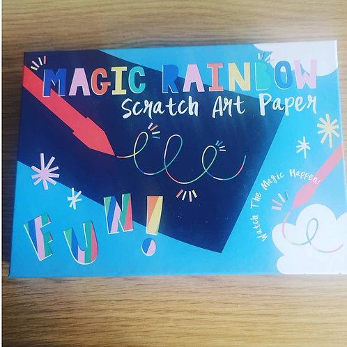 Rex London Magic Rainbow Scratch Art Paper