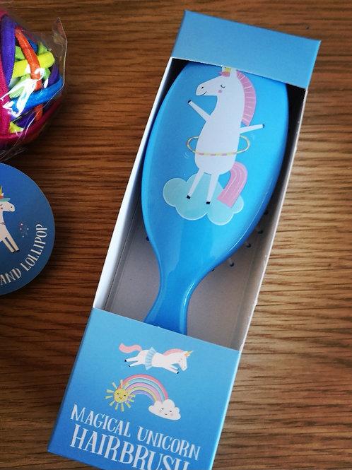 Magical Unicorn Hairbrush