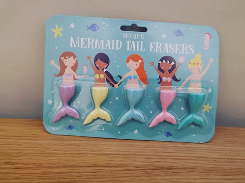 Mermaid Tail Erasers