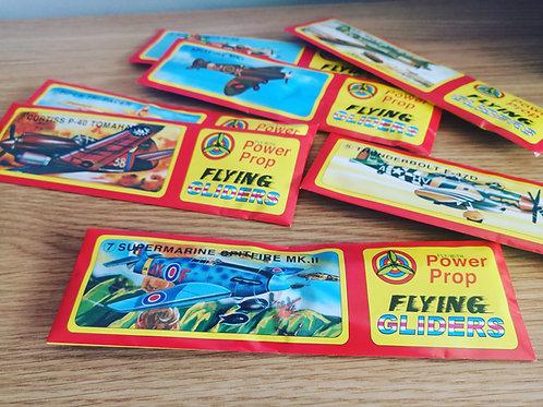 Assorted WW2 Glider Planes