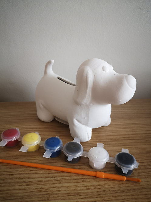 Sausage Dog (Paint Your Own) Ceramic Money Box