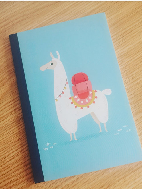 Rex London A5 Llama Notebook
