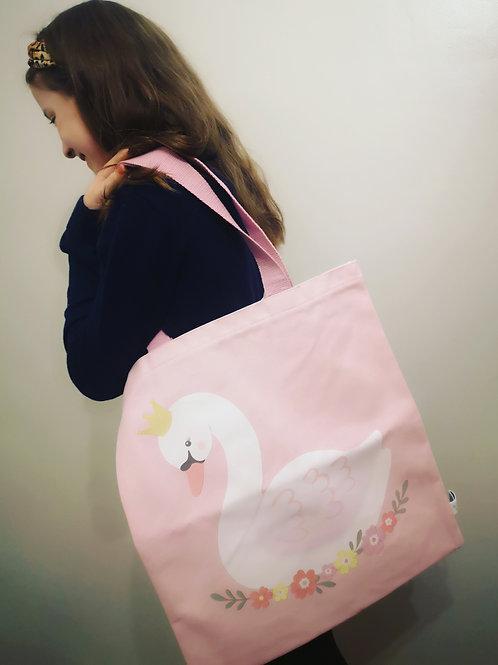 Sass & Belle Swan Tote Bag
